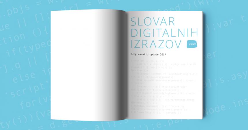 Slovar - tiskana izdaja