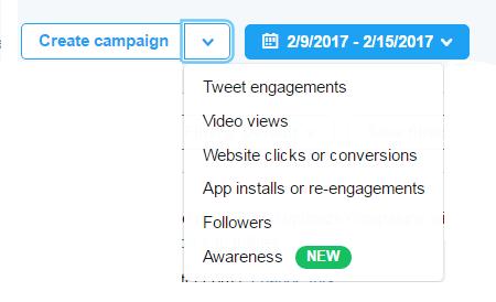 Cilji Twitter oglaševanja
